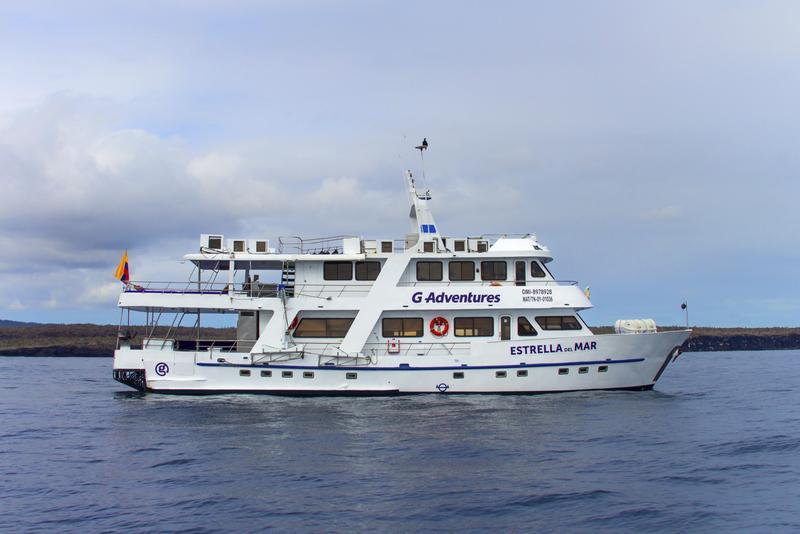 Ship G Adventures Galapagos